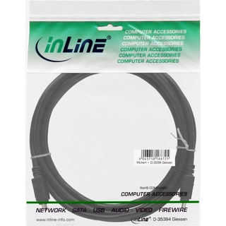 InLine® FireWire 400 1394 Cable 4 Pin male to male 1.8m