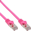 InLine® Patchkabel, SF/UTP, Cat.5e, pink, 5m