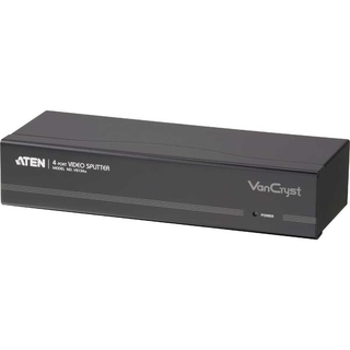 ATEN VS134A Video-Splitter S-VGA 4-fach Monitor-Verteiler, 450MHz